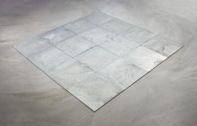 Carl Andre, '16 Ace Zinc Square', 2007