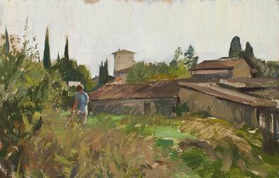 Marc Dalessio, 'Landscape Painter', 2017