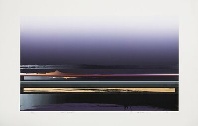 Tetsuro Sawada, 'Views (purple)', 1987