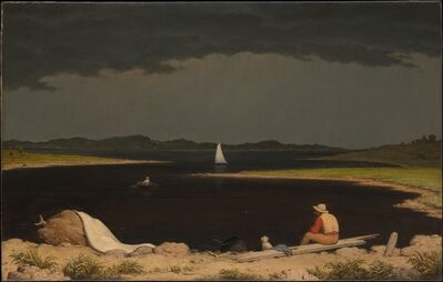 Martin Johnson Heade, 'Approaching Thunder Storm', 1859