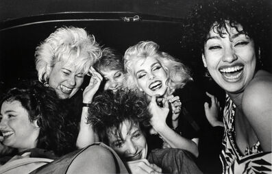 Ryan Weideman, 'Six Girls Crack Up', 1982