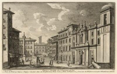 Giuseppe Vasi, 'Chiesa, e Spedale di S. Giovanni di Dio', 1747-1801