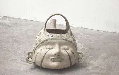 Noe Martínez, 'Cabeza mediana, azúcar y piedra 2', 2018