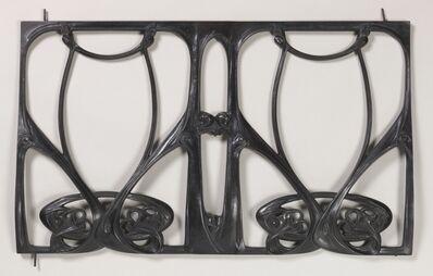 Hector Guimard, 'Balcony grille', 1909-1911