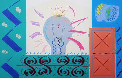 Kazuhide Yamazaki, 'House with Fence', 1983