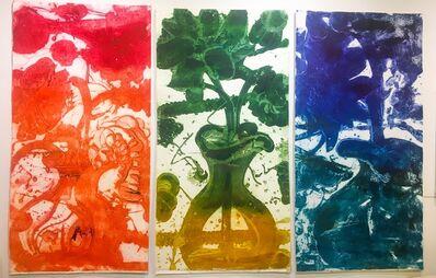 Catherine Howe, 'Carborundum Monoprint Triptych', 2016