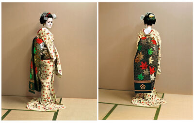 Jacqueline Hassink, 'The maiko as an artist, the artist as a maiko. Kyoto, Japan Self-portraits 11 June 2004', 2004