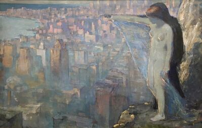 Edith Prellwitz, 'Overlooking New York', ca. 1929