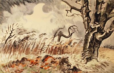 Charles Ephraim Burchfield, 'November Storm', 1950
