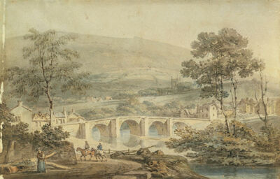 J. M. W. Turner, 'Matlock', 1794