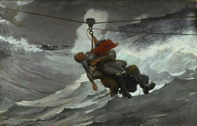 Winslow Homer, 'The Life Line', 1884