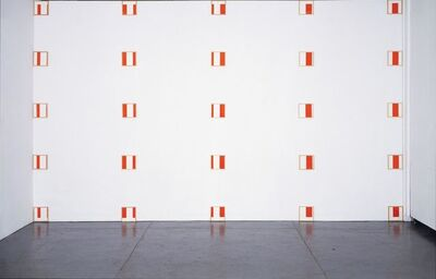 Daniel Buren, 'Framed/Exploded/Defaced', 1979