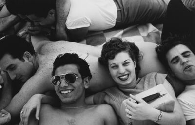 Harold Feinstein, 'Coney Island Teenagers'