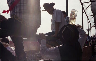 """Gregory Bojorquez, '""""Salud""""! Gabby At The Rodeo', 2012"""