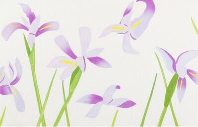 Alex Katz, 'Blue Flags (Irises)', 2014