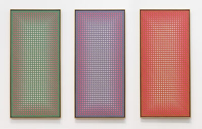 Julian Stanczak, 'Diagonal Dependence', 1985