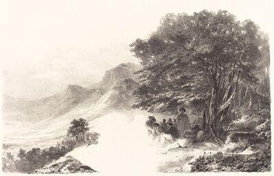 Nicolas-Toussaint Charlet, 'Paysans se reposant dans la Campagne (Peasants Resting in the Countryside)', 1831
