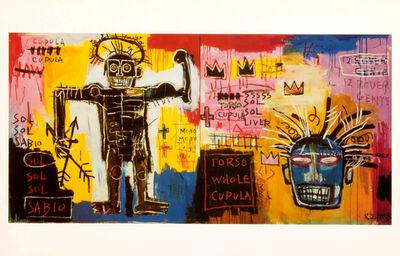 Jean-Michel Basquiat, 'Jean-Michel Basquiat at Tony Shafrazi Gallery, New York, 1993 (announcement) ', 1993