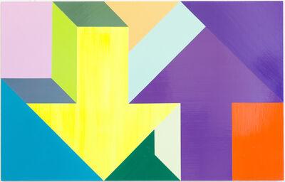Tony Tasset, 'Arrow Painting', 2015