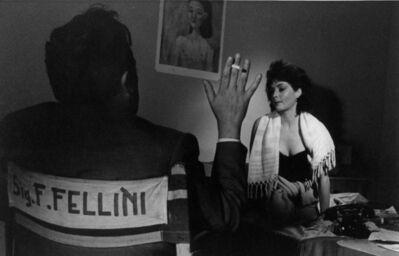 Pierluigi Praturlon, 'Federico Fellini 'La dolce Vita'', 1959