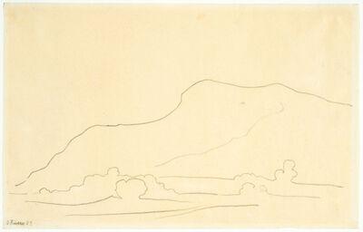 Diego Rivera, 'Paisaje de Tehuantepec (Tehuantepec Landscape)', 1923