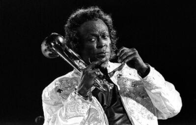 Marco D'Anna, 'Miles Davis', 1987