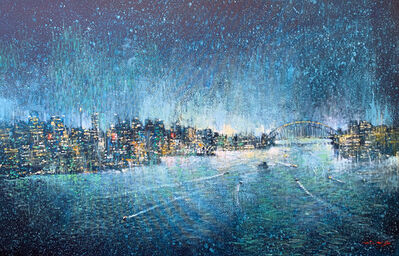 David Hinchliffe, 'Still Night on Sydney Harbour', 2019