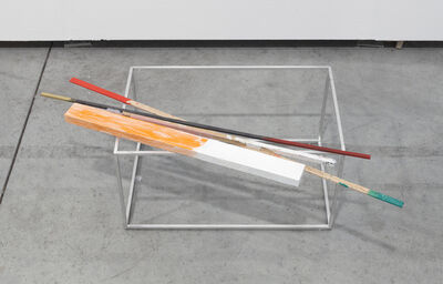 Joëlle Tuerlinckx, 'VOLUME d'AIr avec Barre rose, 'Solo & Sculpture'', 2011-2017