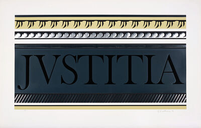 Roy Lichtenstein, 'Entablature X', 1976