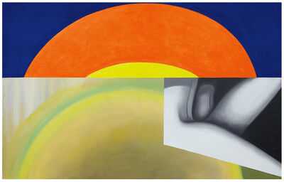 James Rosenquist, 'Brighter Than the Sun', 1961