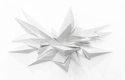 Mikael B., 'Deep Dimensions White', 2018