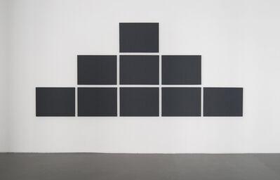 Alan Charlton, 'Pyramid Grid Painting', 2011