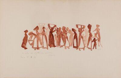 Maria Lai, 'Figure', 1970