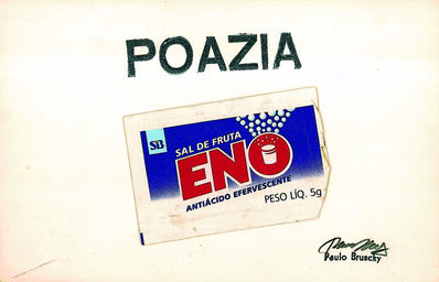 Paulo Bruscky, 'Poazia', 1977