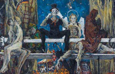 Sergei Chepik, 'The Bench', 1989