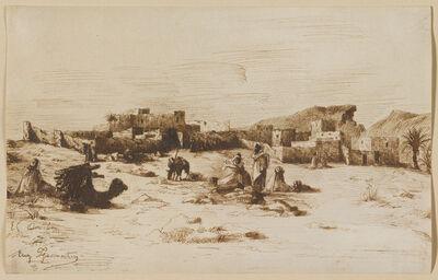 Eugène Fromentin, 'El Aouila', 1853