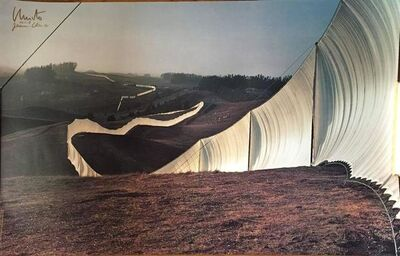 Christo and Jeanne-Claude, 'Running Fence, Sonoma and Marin Counties, California', 20th Century