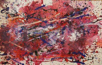 Bill Alpert, 'Drip in Pink, Blue, Purple and White', 1971-1973