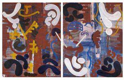 George Blacklock, 'Music 4 (2 panels)', 2014