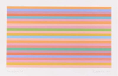 Bridget Riley, 'Rose Horizontal'