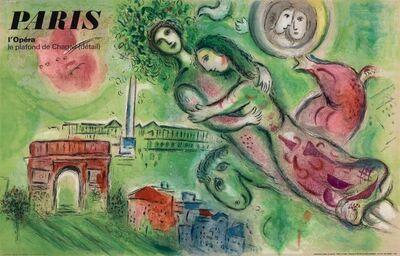 After Marc Chagall, 'Paris: L'Opera (Romeo and Juliet)', 1965