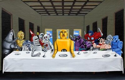 Jared Aubel, 'Robot Last Supper', 2012-2019
