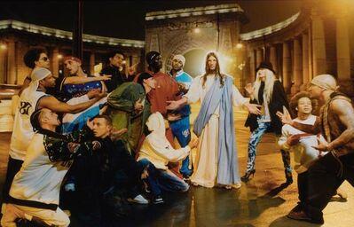David LaChapelle, 'Jesus is My Homeboy, Sermon', 2003