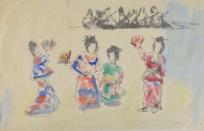 Mané-Katz, 'Geisha Girls', 20th Century
