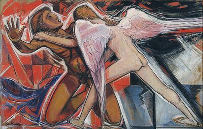 Roy de Maistre, 'Jacob Wrestling with the Angel', 1958
