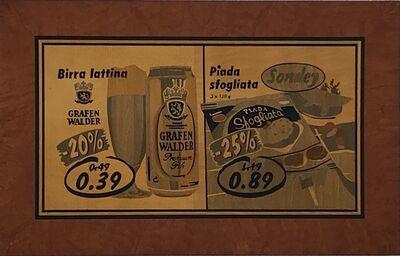 "Carlo Steiner, '""Piada con birra""', 2007"
