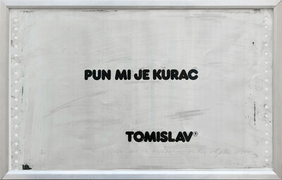 Tomislav Gotovac, 'I've fucking had it (Pun mi je kurac)', 1978