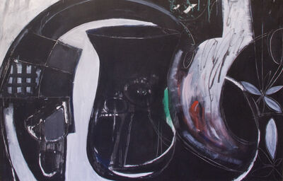 Harold Garde, 'Black Pitcher', 2001
