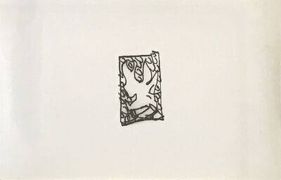 "Emilio PRINI, 'Untitled (da ""X Edizioni"")', 1989"