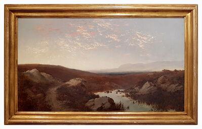 Giulio Aristide Sartorio, 'Paesaggio (Landscape)', ca. 1890